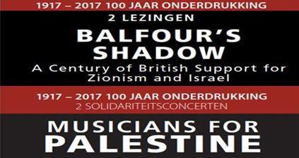 1917 – 2017 Honderd jaar onderdrukking van het Palestijnse volk DocP organiseert twee lezingen, twee concerten