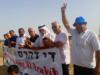 Actievooerders in Al-Araquib enkele jaren terug