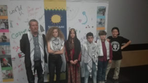 The-family-of-whose-lives-are-portrayed-in-the-movie-from-left-Bassem-Tamimi-Ahed-Tamimi-Jana-Jihad-Muhammad-Nawaja-Salem-Bassem-Tamimi-and-Muhammad-Bassem-Tamimi.-copy