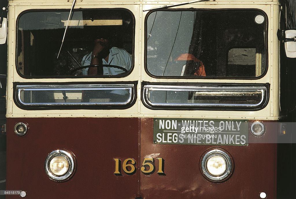 Zuid Afrika ten tijde van apartheid