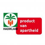 Hadiklaim product van apartheid